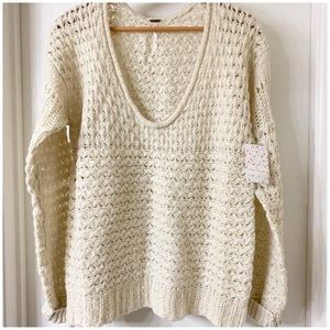 7d8a93b39 Free People Sweaters - HP🎉Free People Crashing Waves Pullover Sweater